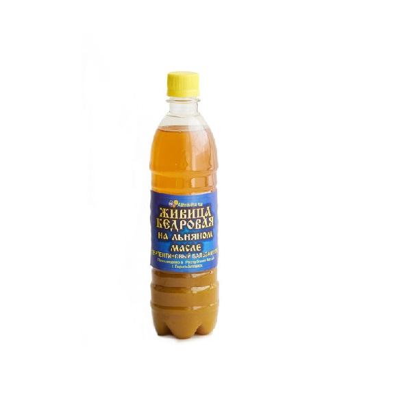 Живица кедровая на льняном масле (Терпентиновый бальзам) 10%