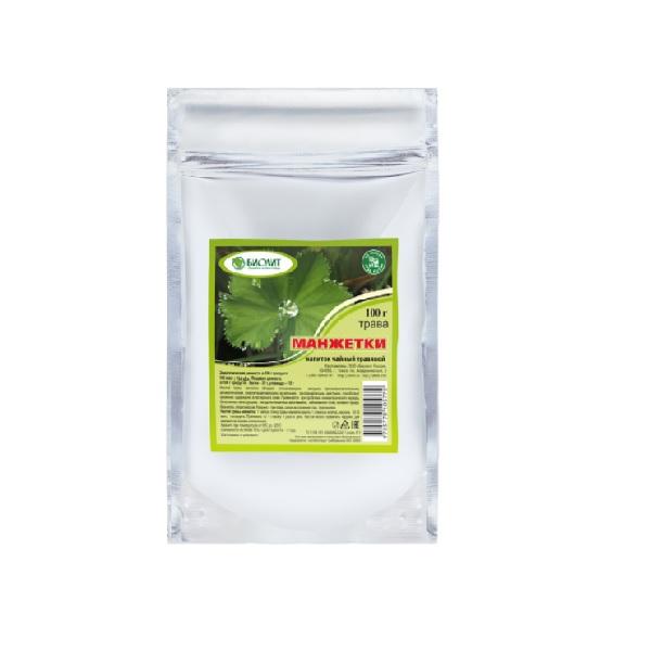 Манжетки трава напиток чайный, 100гр