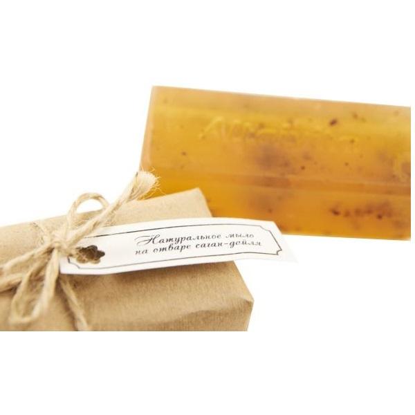 Мыло ручной работы из саган-дайля