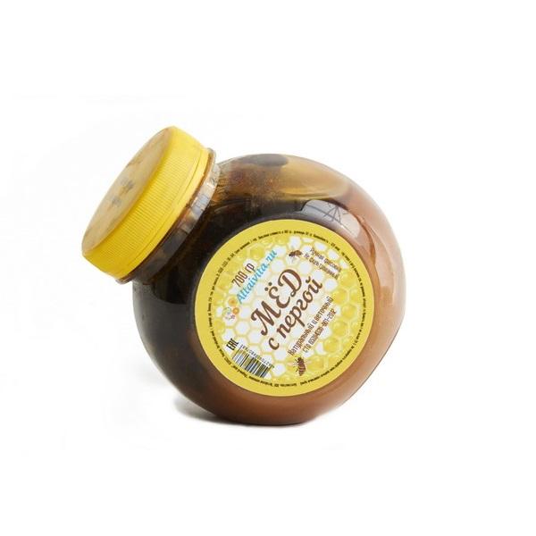 Мёд Алтайский с пергой