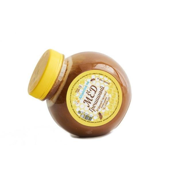 Мёд алтайский гречишный