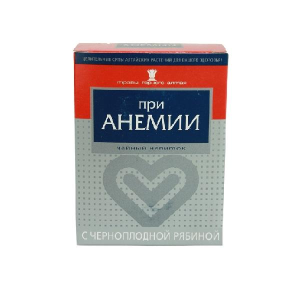 При анемии с черноплодной рябиной чайный напиток в Смоленске
