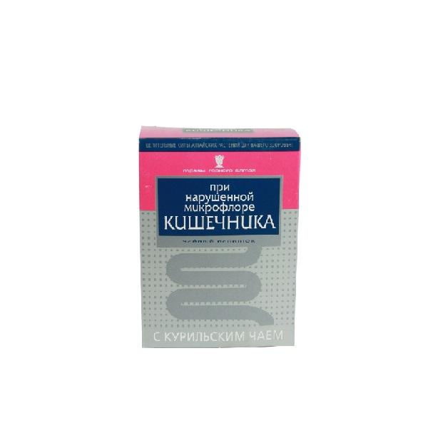 При нарушенной микрофлоре кишечника с курильским чаем смесь трав в Смоленске
