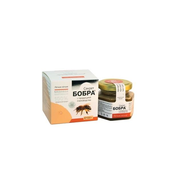Секрет бобра с продукцией пчеловодства в Смоленске