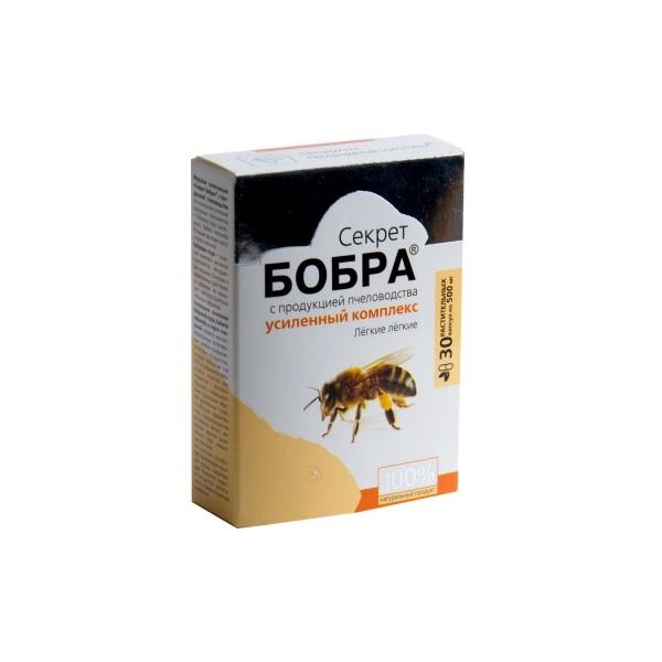 Секрет бобра с продукцией пчеловодства