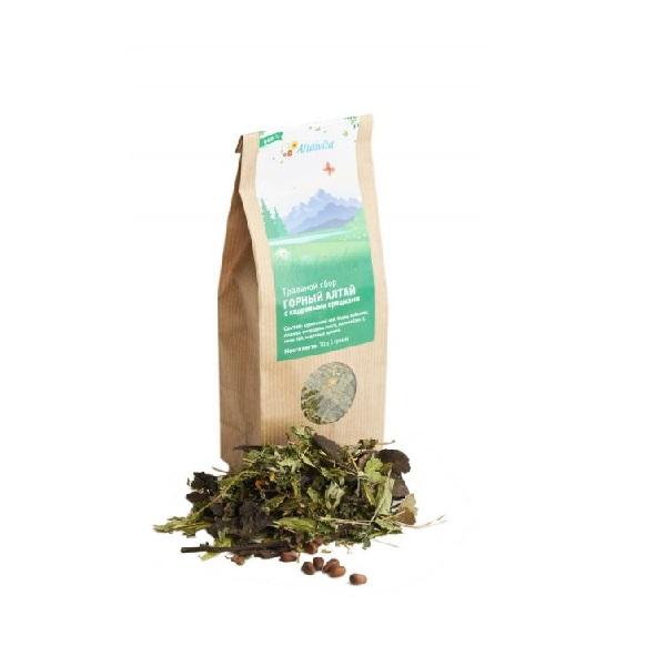 """Травяной чай """"Горный Алтай с кедровыми орешками"""""""