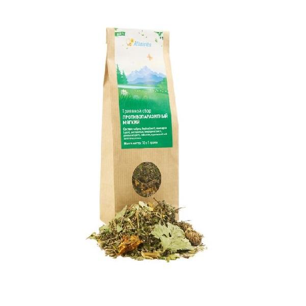 """Травяной чай """"Противопаразитарный мягкий"""""""